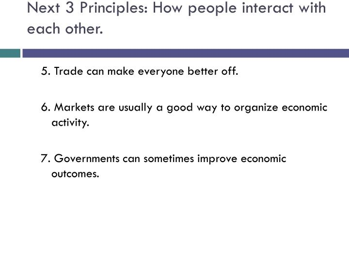 Next 3 Principles: