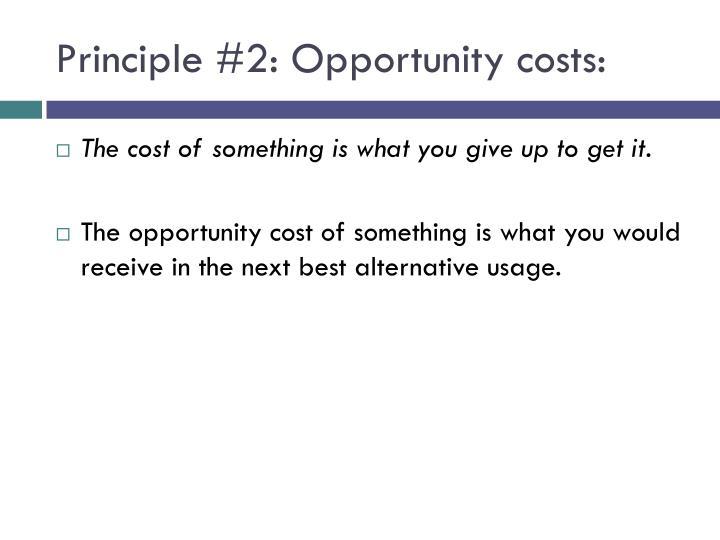 Principle #2:
