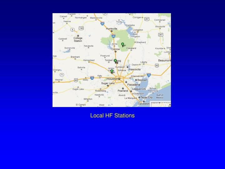 Local HF Stations
