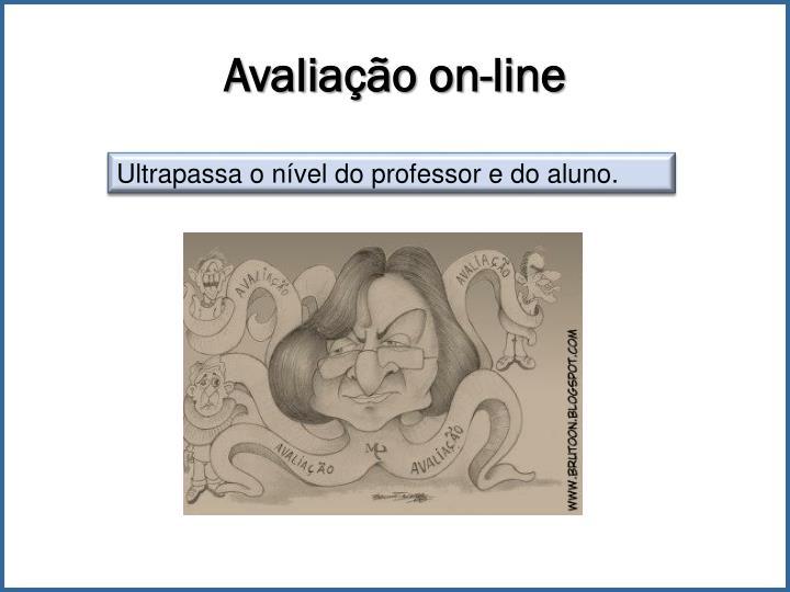 Avaliação on-line