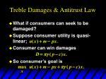 treble damages antitrust law11