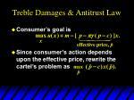 treble damages antitrust law14