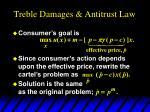 treble damages antitrust law15