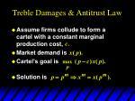 treble damages antitrust law3