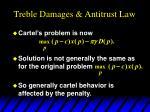 treble damages antitrust law6