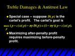 treble damages antitrust law8