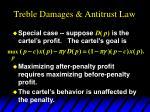 treble damages antitrust law9