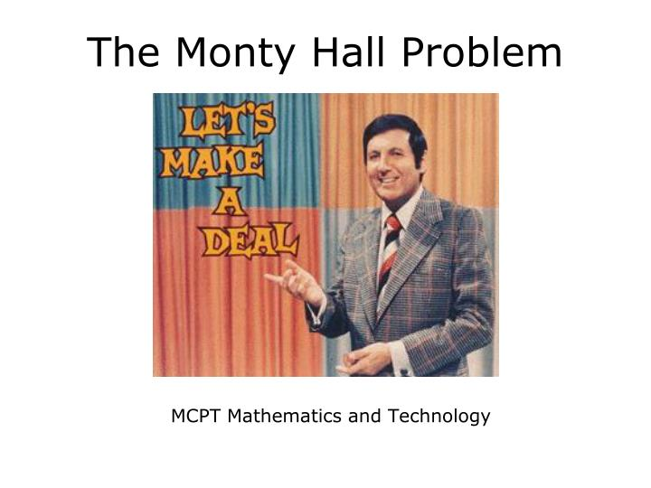 MCPT Mathematics and Technology