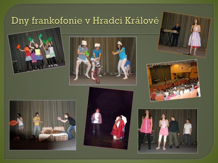 Dny frankofonie v Hradci Králové