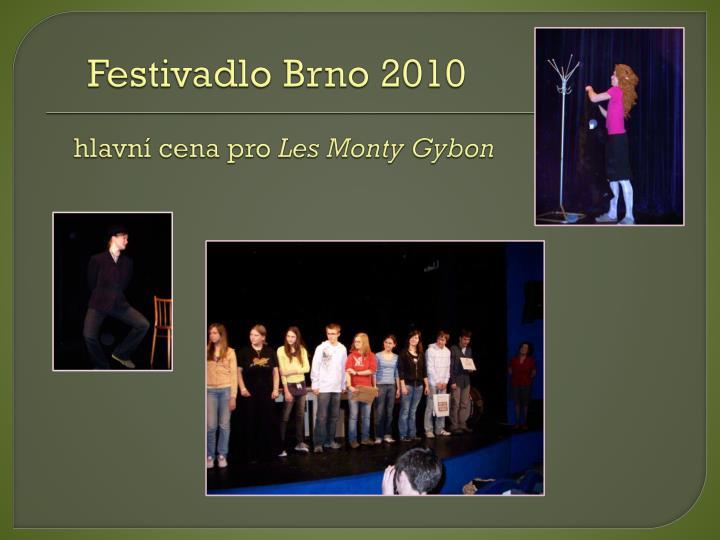 Festivadlo Brno 2010