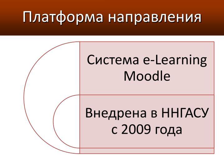 Платформа направления