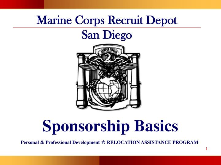 Marine Corps Recruit Depot