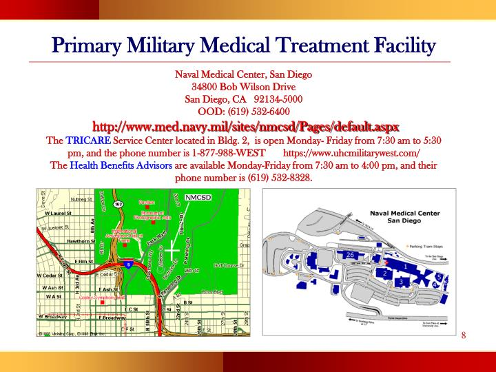 Primary Military Medical Treatment Facility