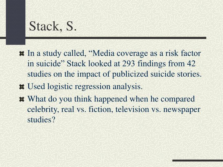 Stack, S.