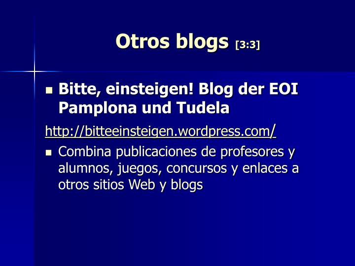 Otros blogs