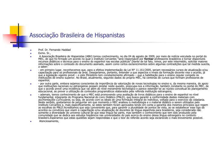 Associação Brasileira de Hispanistas