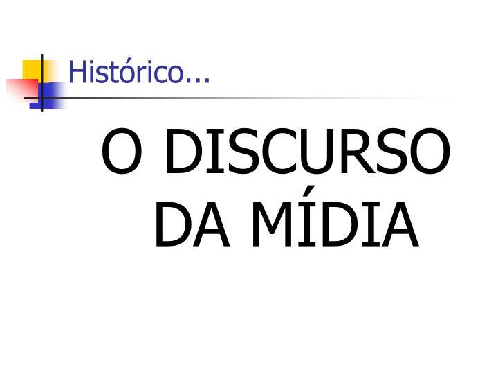Histórico...