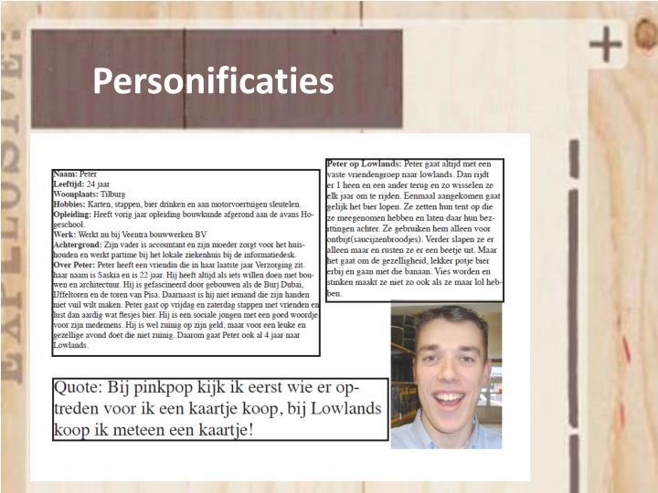 Personificaties