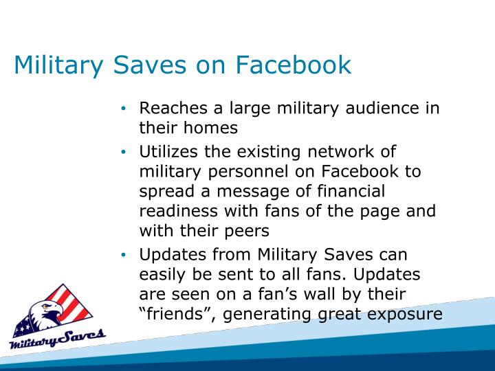 Military Saves on Facebook