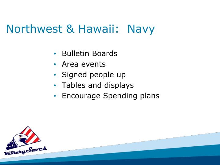 Northwest & Hawaii:  Navy