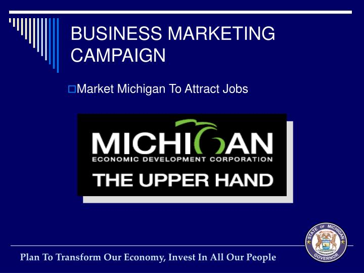BUSINESS MARKETING CAMPAIGN