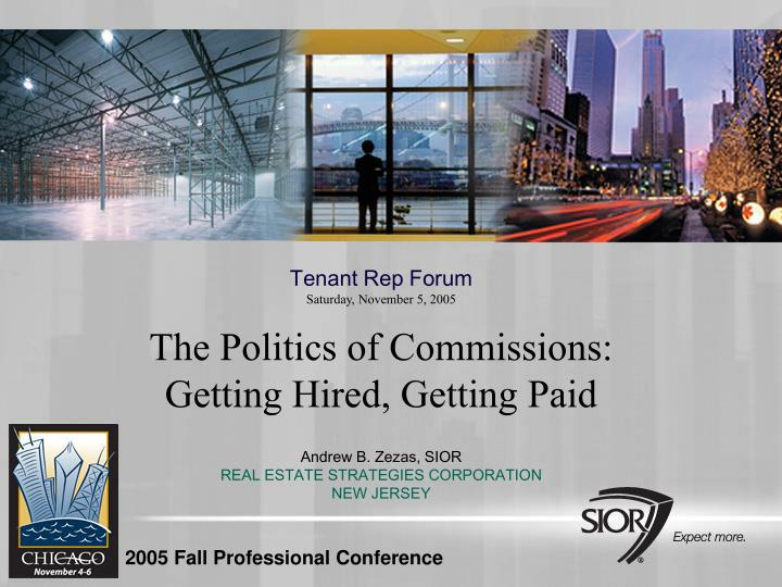 Tenant Rep Forum