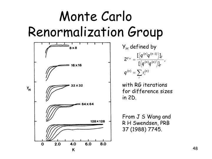 Monte Carlo Renormalization Group