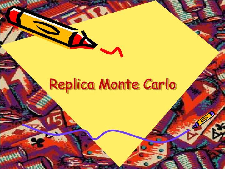 Replica Monte Carlo