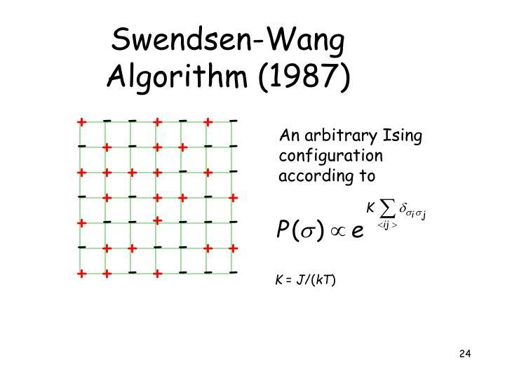 Swendsen-Wang Algorithm (1987)