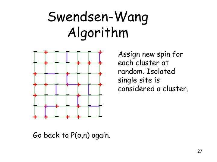 Swendsen-Wang Algorithm