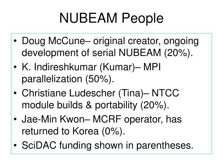 NUBEAM People