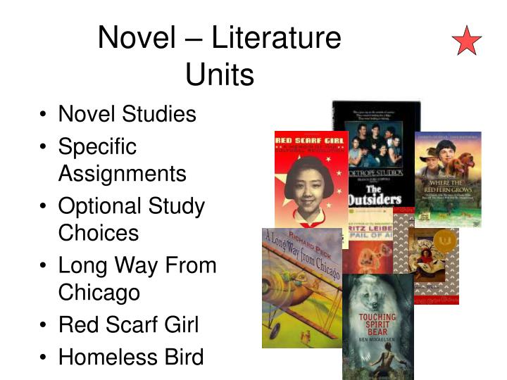 Novel – Literature Units