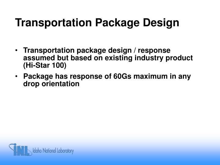 Transportation Package Design