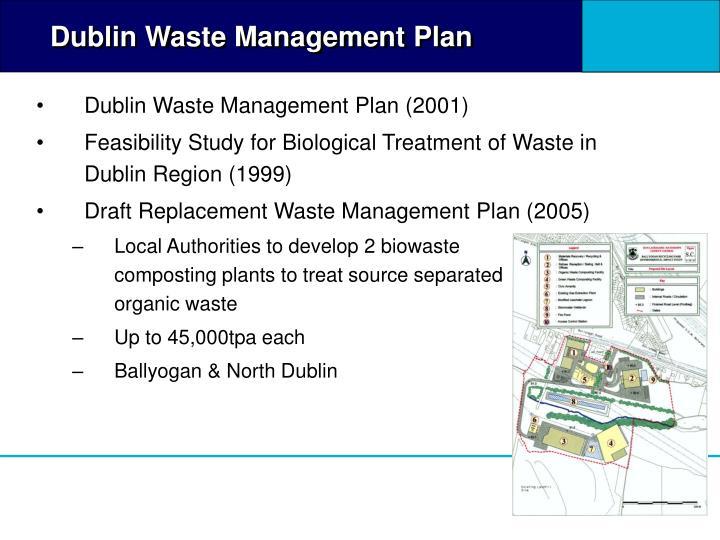Dublin Waste Management Plan