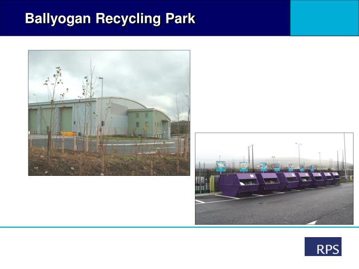 Ballyogan Recycling Park