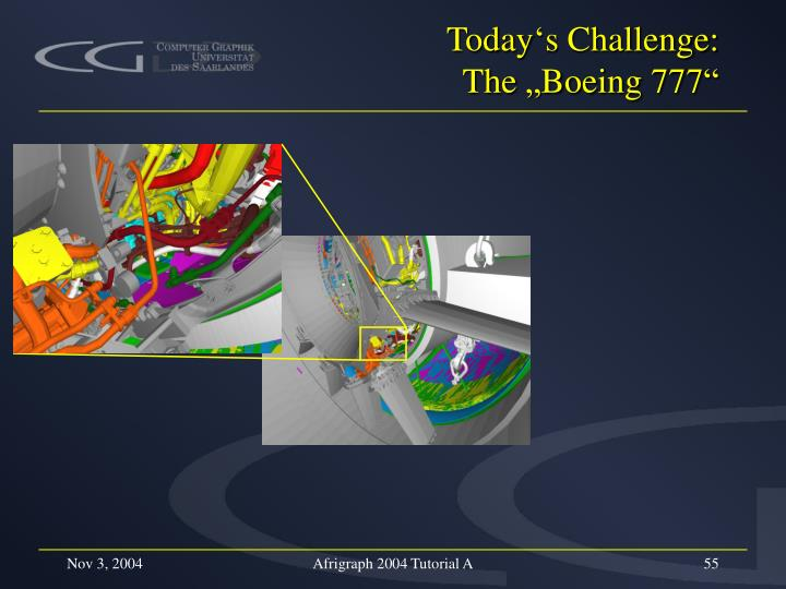 Today's Challenge: