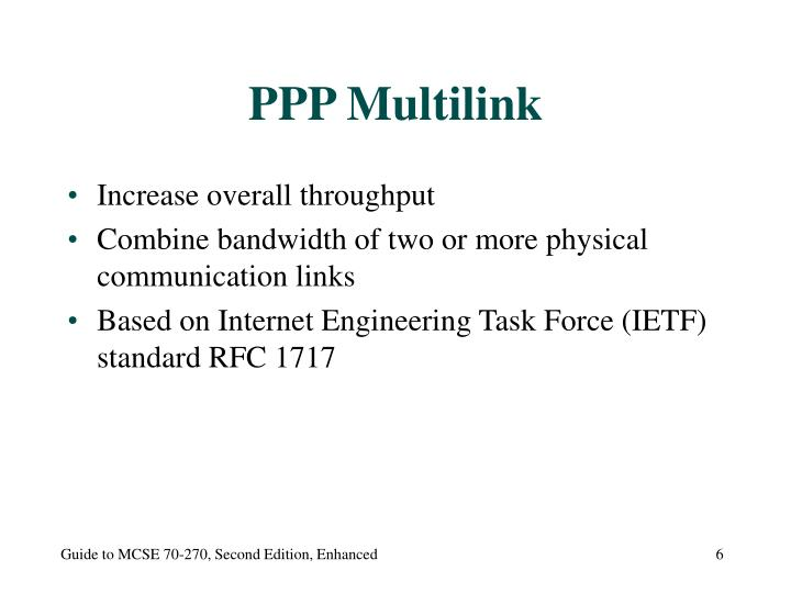 PPP Multilink