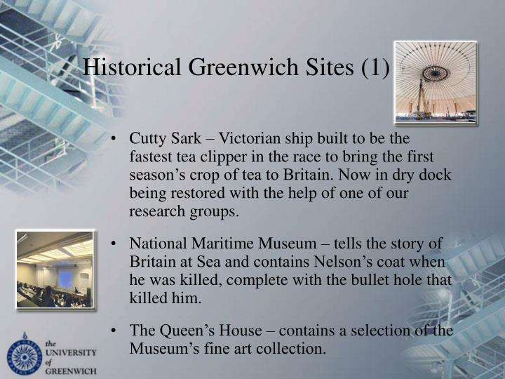 Historical Greenwich Sites (1)