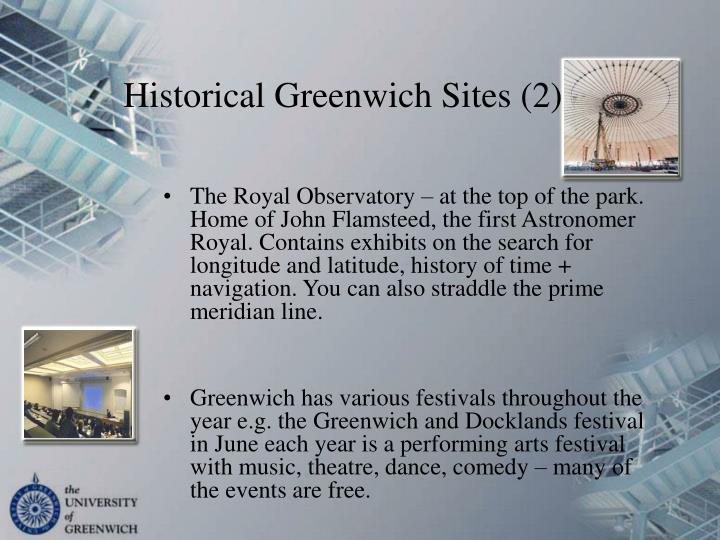 Historical Greenwich Sites (2)