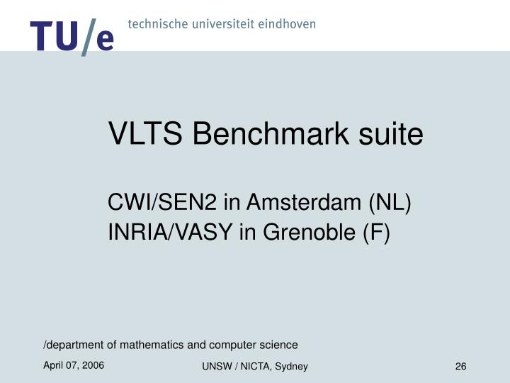 VLTS Benchmark suite