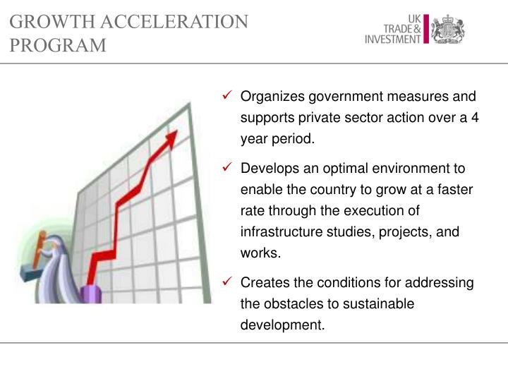 GROWTH ACCELERATION