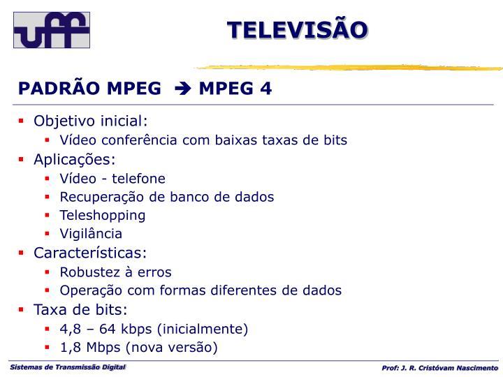 PADRÃO MPEG