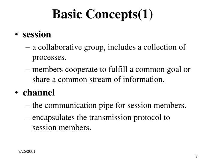 Basic Concepts(1)