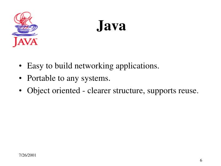 Easy to build networking applications.