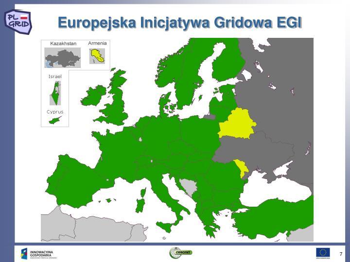 Europejska Inicjatywa Gridowa EGI