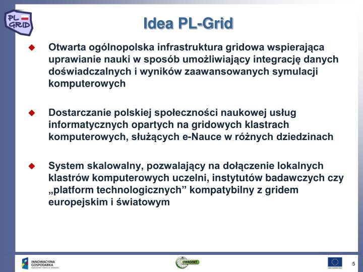 Idea PL-Grid
