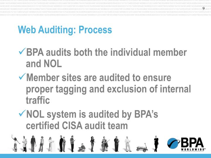 Web Auditing: Process