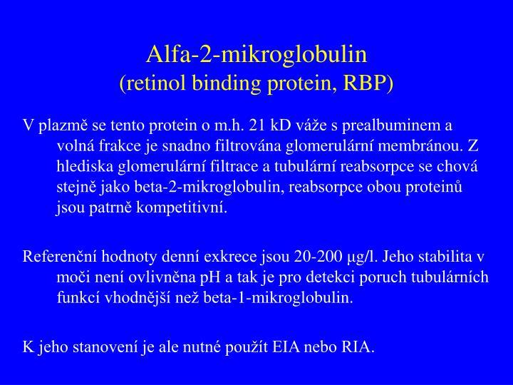 Alfa-2-mikroglobulin