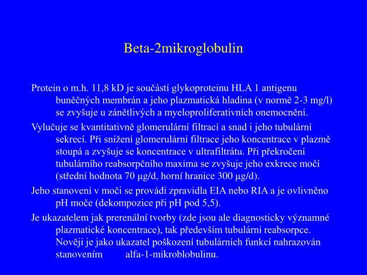 Beta-2mikroglobulin