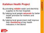 kailahun health project2